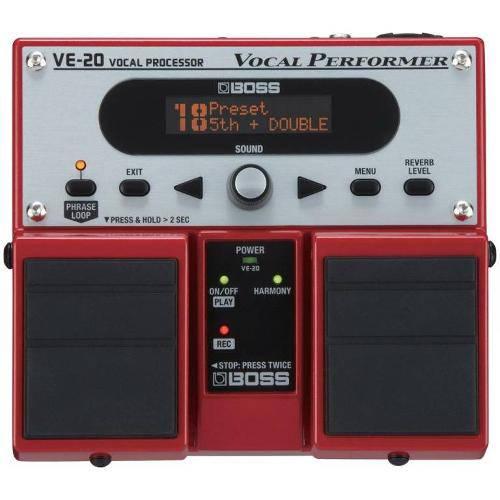 Pedaleira para Vocal Boss Ve-20