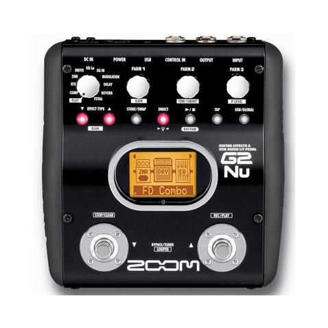 Pedaleira Zoom G2nu Unico