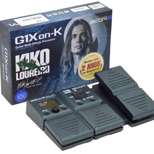 Pedaleira Zoom Kiko Loureiro G1Xon-K