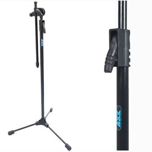Pedestal para Microfone Ask Mgs Estante Girafa