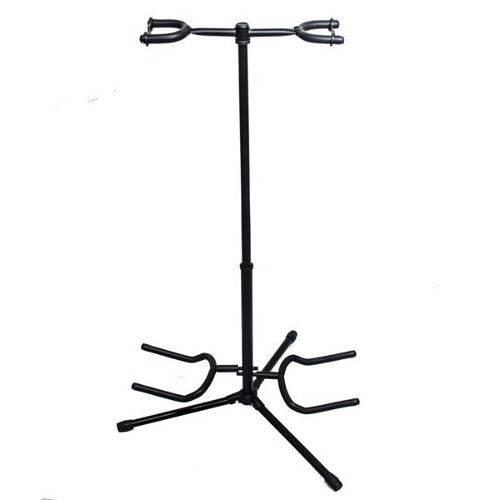Pedestal Suporte 2 Instrumentos Baixo Guitarra Violão Jx32
