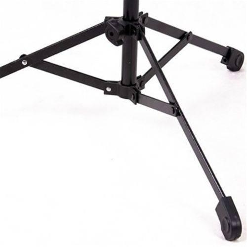 Pedestal Suporte Metálico para 2 Microfones Tripé Mgp Ask