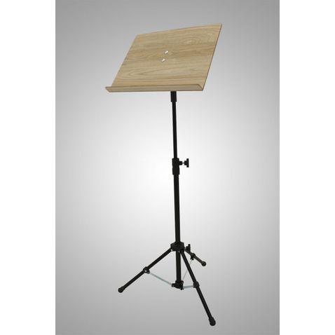 Pedestal Visao Ppmbk Partitura Maestro Madeira Preto