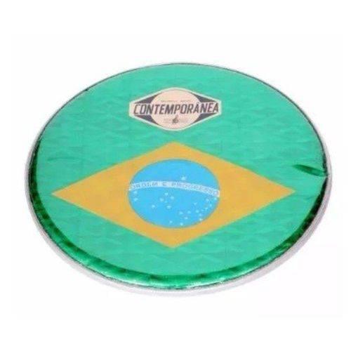 Pele 11 P Contemporânea Holografica Bandeira do Brasil