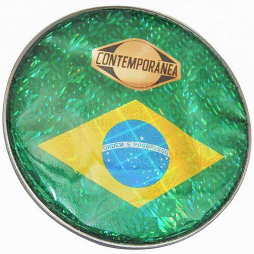 """Pele Bandeira do Brasil Contemporânea 10"""" 44p"""