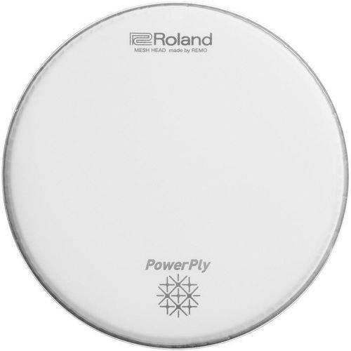 Pele Bateria 16 Roland Powerply Mesh Head Mh2-16 By Remo