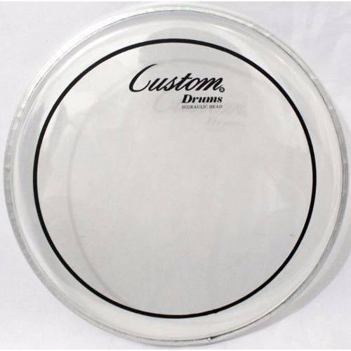 Pele Bateria Custom Drums para Bumbo 22 Polegadas Hidráulica