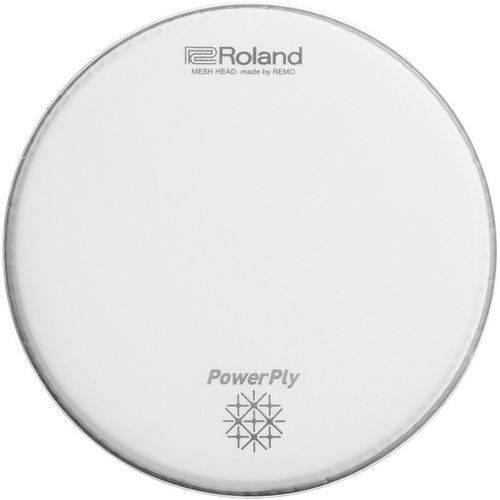 Pele Bateria Tom 8 Roland Powerply Mesh Head Mh2-8 By Remo