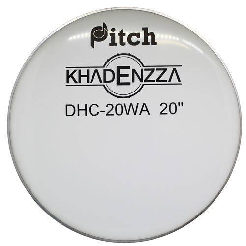 Pele Bumbo Bateria Resposta 20 Polegadas Leitosa Pitch Dhc20WA