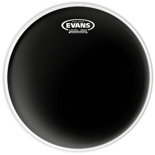 Pele Hidráulica Black Evans Preta Tom 8 Polegadas