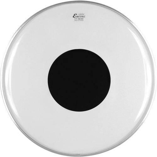 "Pele Remo Encore Controlled Sound Transparente 10"" En-0310-Ct"