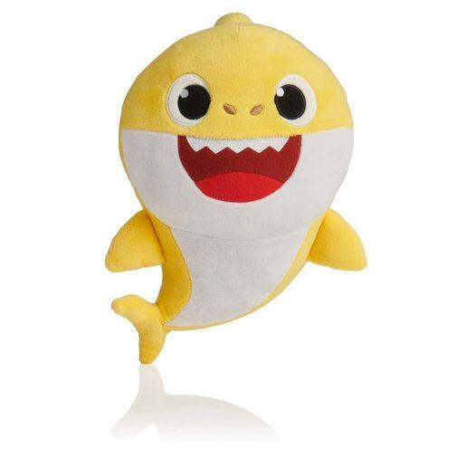 Pelúcia Musical Baby Shark Amarelo - 30 Cm - Toyng