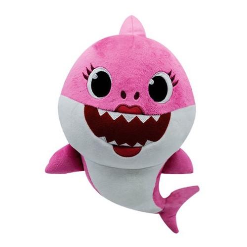 Pelúcia Musical Baby Shark Rosa Toyng