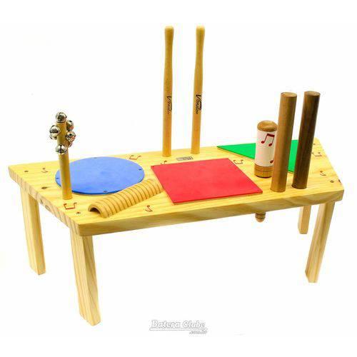 Percussão Jog Vibratom Baby Geométrica P3697 com Reco-reco, Maraca (musicalização Infantil) 16500