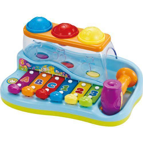 Pianinho Bata e Toque - Yes Toys