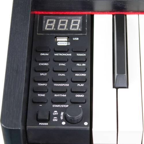 Piano Digital 88 Teclas - Tpd88r