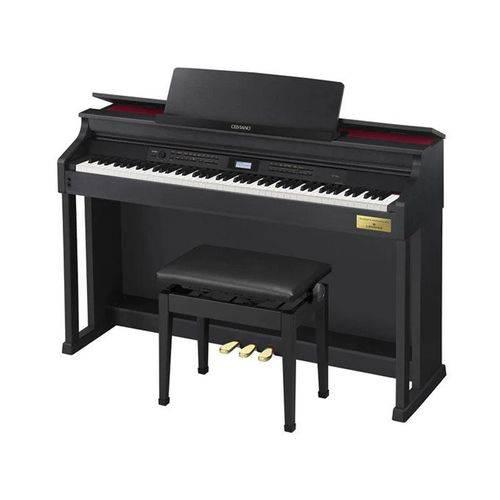 Piano Digital Casio Celviano AP700 Preto com Fonte e Banqueta