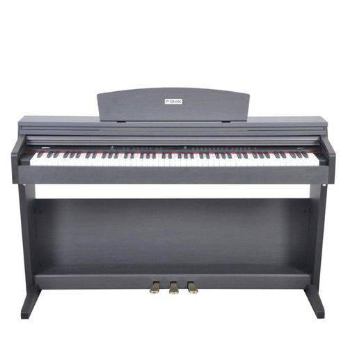 Piano Digital Fenix Dp 70 Rw Usb Rosewood 88 Teclas Sensitivas com 128 Vozes e 64 Tons Polifônicos