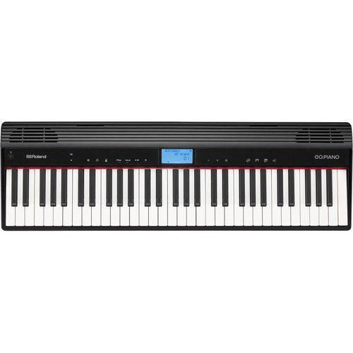 Piano Digital Roland Go Piano Bluetooth Go61p com Fonte