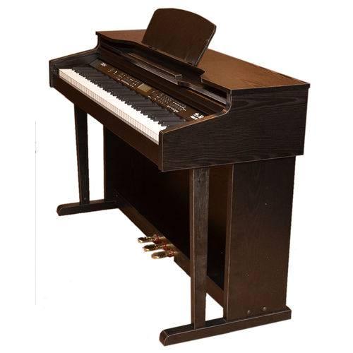 Piano Digital Zion By Plander Ark-8896 Preto 88 Teclas Pesa