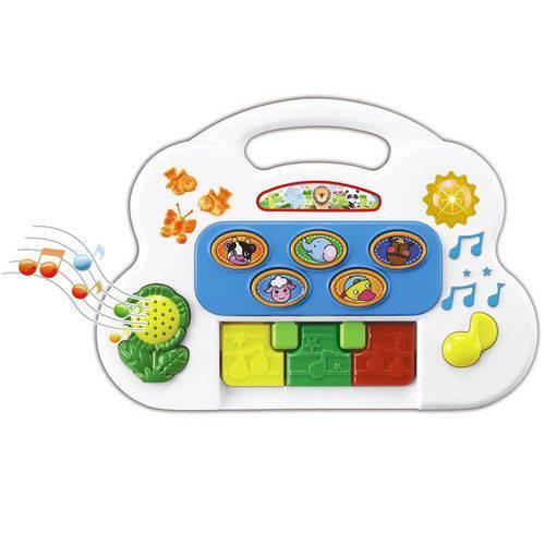 Piano Musical Infantil com Sons Eletrônico 6406 - Braskit