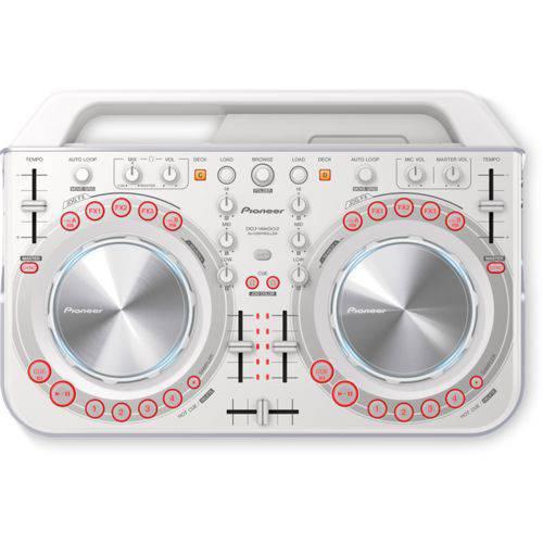 Pioneer DJ Controlador Ddj Wego 2 W Branco XE25
