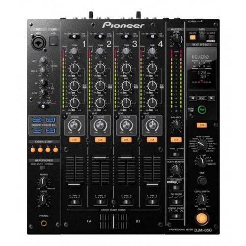 Pioneer DJ Mixer DJM 850K Black