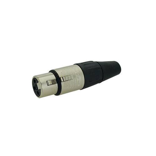 Plug Neutrik Rean Xlr Femea Rc3f