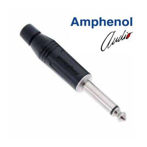 Plug P10 Mono Amphenol Acpm-gb/n (preto)