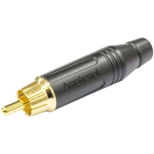 Plug Rca Macho Acpr-blk Amphenol