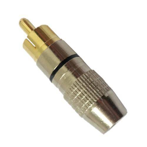 Plug RCA Storm Profissional Preto PGRC0012