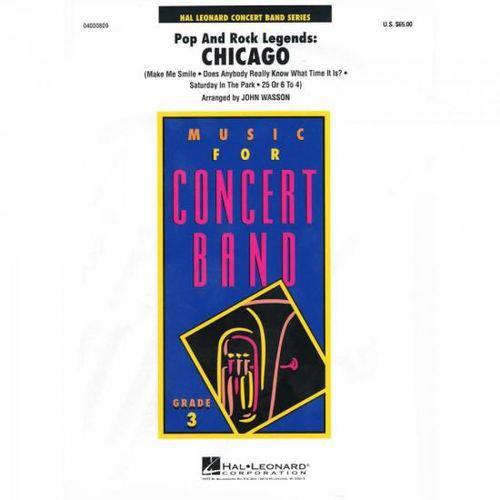 Pop And Rock Legends Chicago Score Parts Essencial Elements