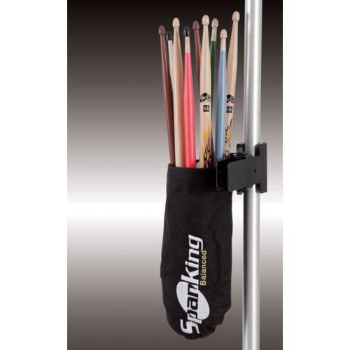 Porta Baquetas Spanking Bolsa com Clamp para 6 Pares Mais (112600)