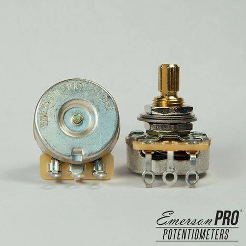 Potenciômetro Pro Cts 500k Haste Curta Estriada - Emerson