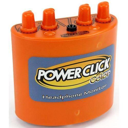 Power Click Color Series Db Orange Amplificador Áudio de Fone de Ouvido