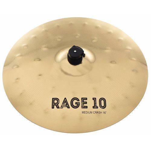 Prato Ataque 16'' Medium Crash Orion Rage 10 em Liga B10 Rg16mc