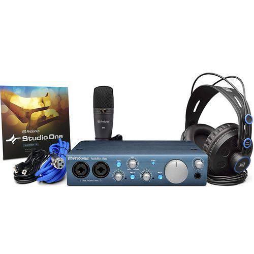 PreSonus Audiobox ITwo Studio Kit Interface de Áudio