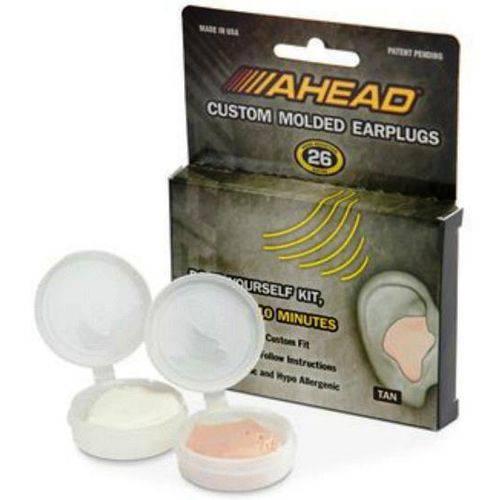 Protetor Auricular Ahead Molded Earplugs Molde Personalizado Acme se Molda Exclusivamente à Orelha