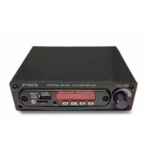 Pws - Amplificador Digital Music Sytem Mp401a