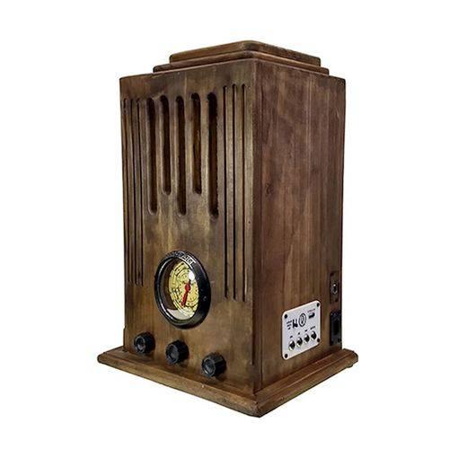 Rádio Antigo de Madeira - Novo