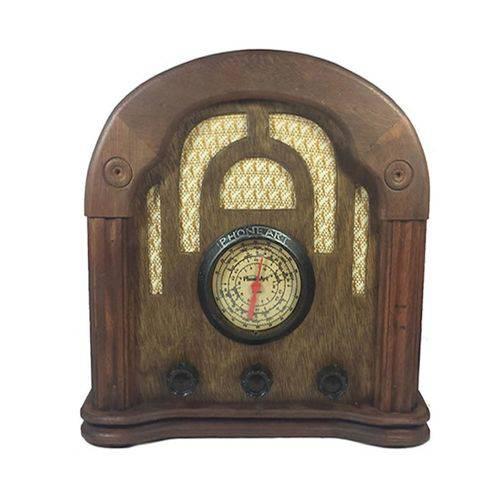 Rádio Estilo Antigo - Imperial - de Madeira