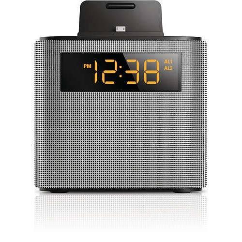 Rádio Relógio Philips Ajt-3300b - Fm - Bluetooth - Prata - Bi-volt