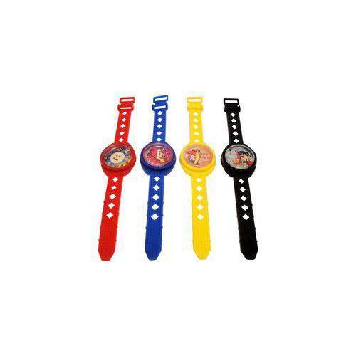 Relógio Dodo Colorido com Impresso - Pacote com 8 Unidades