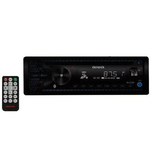 Reprodutor de Cd Automotivo Aiwa Aw-2229bt com Bluetooth/nfc/sd/USB - Preto