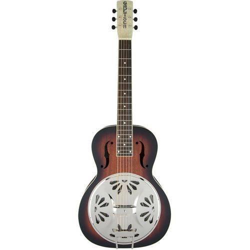 Resonator Deluxe Bobtail Gretsch - G9230 Electro-acoustic Square-neck - 2-color Sb