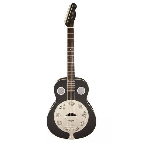 Resonator Fender 095 5006 - Top Hat - 006 - Black