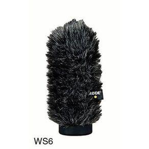 Rode WS6 Deluxe Protetor de Vento para Microfones Rode NTG-1, NTG-2 e VideoMic