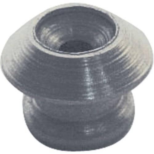 Roldana para Correia C/Parafuso Deval Cinza Escuro 1,5 Cm
