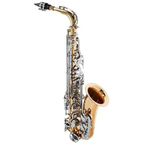 Sax Alto Prowinds - Corpo Laqueado e Chaves Niqueladas Pw320-Ln