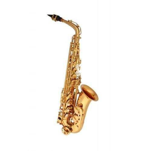 Sax Alto Winner Dourado C/ Case Abs